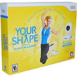 Nintendo Your Shape: Featuring Jenny McCarthy with Camera for Wii