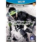 Nintendo Tom Clancy's Splinter Cell: Blacklist for Wii U