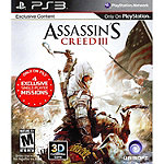 Sony Assassin's Creed III for PS3