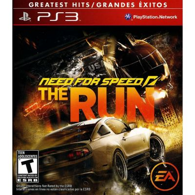 Electronic Arts Need For Speed The Run for PS3