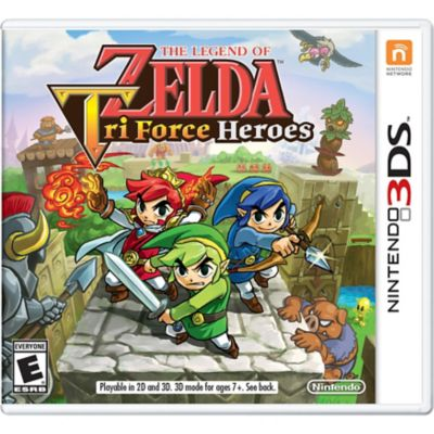 Nintendo Legend Zelda: Tri Force for 3DS