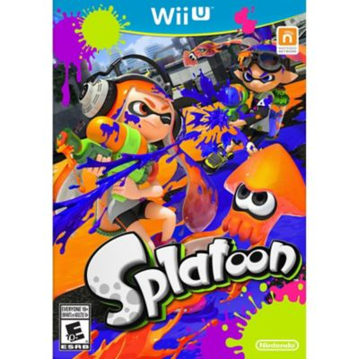 Nintendo Splatoon for Wii U