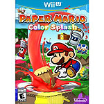 Nintendo Paper Mario Color Splash Wii U