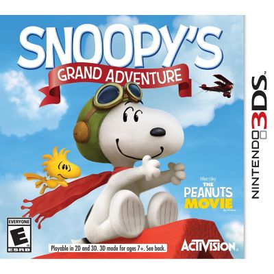 Nintendo Peanuts Movie Snoopy's Grand Adventure for 3DS