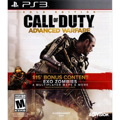 Sony Call Of Duty Adavance Warfare Gold for PS3