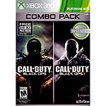 Microsoft Call Of Duty: Black Ops 1 and 2 for Xbox 360