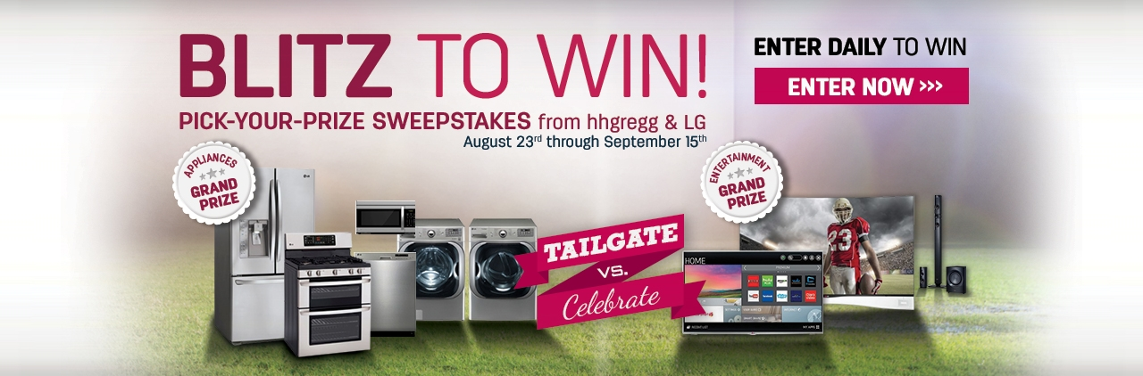 Blitz to Win Sweepstakes
