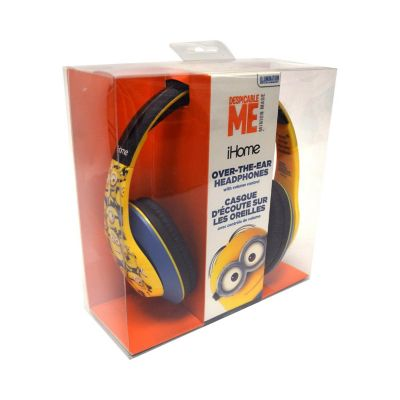 KIDdesigns by iHome Minions Teen Headphones