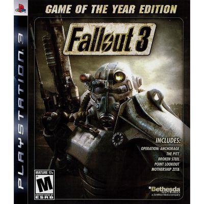 Sony Fallout 3: Game of the Year Edition for PS3