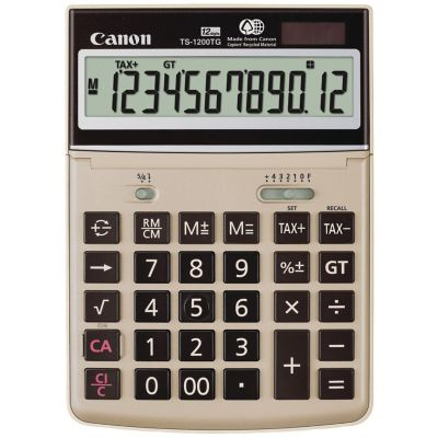 Canon 12-Digit Desktop Calculator