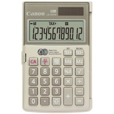 Canon 12-Digit Handheld Calculator