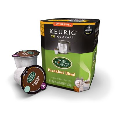 Keurig K-Carafe™ 8-Count Green Mountain Coffee® Breakfast Blend Coffee for Keurig® 2.0 Brewers