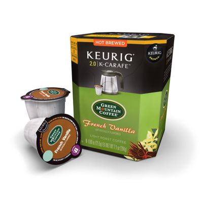 Keurig K-Carafe™ 8-Count Green Mountain Coffee® French Vanilla Coffee for Keurig® 2.0 Brewers
