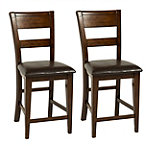 Holland House Wyatt Dining Chairs Set of 2 200.00