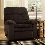 Home Solutions Chocolate Rocker Recliner