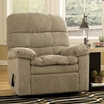 Home Solutions Mocha Rocker Recliner
