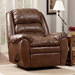 Home Solutions Sedona DuraBlend Leather Rocker Recliner