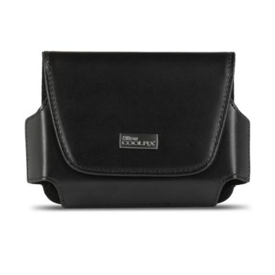 Nikon Black Leather Case for Nikon Coolpix Cameras L610 and S9300