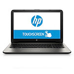 HP Touchscreen Laptop with AMD Quad-Core A6-5200 Processor