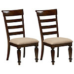 Chapin Dining Armless Chair Set of 2
