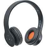 Manhattan Fusion Black Bluetooth Headphones with Microphone 33.99