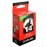 Lexmark No. 14 Black Ink Cartridge 21.99