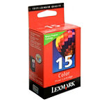 Lexmark No. 15 Color Ink Cartridge No price available.
