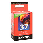 Lexmark No. 37 Color Ink Cartridge for Lexmark Printers X6650 and X4650 17.95