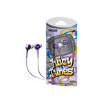 Maxell Purple Juicy Tunes Earbud Headphones 9.99
