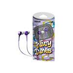 Maxell Purple Juicy Tunes Earbud Headphones 9.99