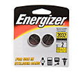 Energizer 2-Pack Watch / Electronics Cell Size 2032 Batteries