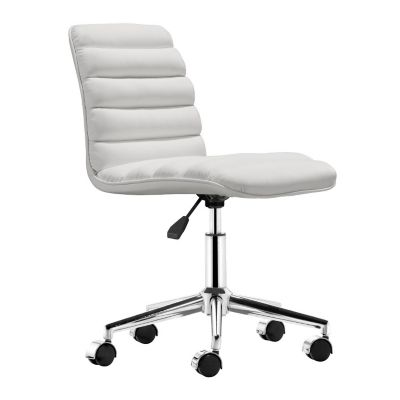 Zuo Modern White Admire Office Chair
