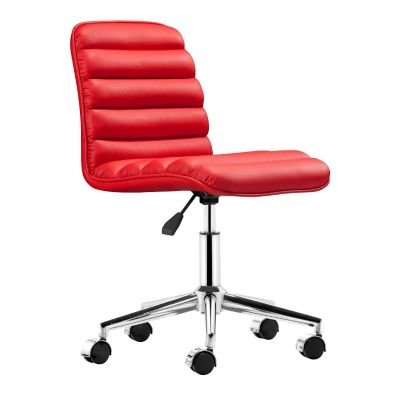 Zuo Modern Red Admire Office Chair