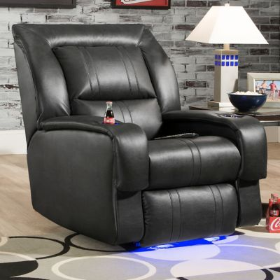 Southern Motion Black Sundance Media Power Recliner