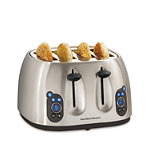 Hamilton Beach Digital 4-Slice Toaster 49.99