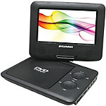 Sylvania Black 7' Swivel-Screen Portable DVD Player