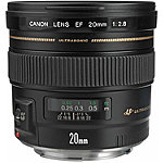 Canon EF 20mm f/2.8 Wide Angle USM Lens