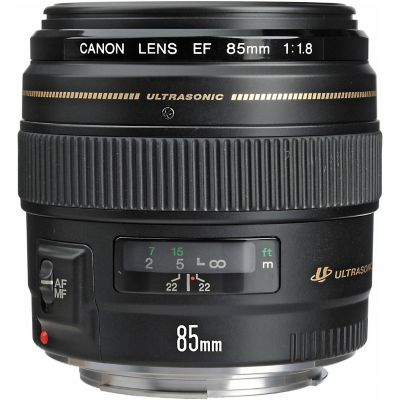 Canon EF 85mm F/1.8 USM Standard and Medium Telephoto Lens