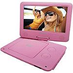 Sylvania Pink 9' Portable DVD Player