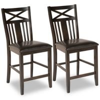 Set of 2 Dawson Dining Chairs (Espresso) - Open Box