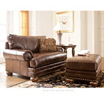 Home Solutions Old World DuraBlend® Leather Chair