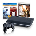 Sony PlayStation®3 500GB System with 3 Games 359.99