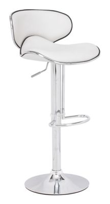 Zuo Modern White Fly Bar Chair