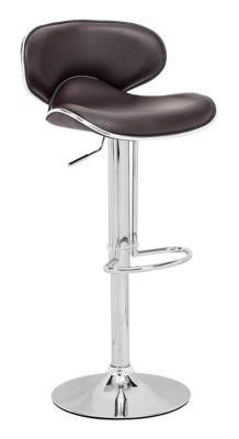 Zuo Modern Espresso Fly Bar Chair