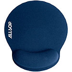 Allsop Blue Memory Foam Mouse Pad