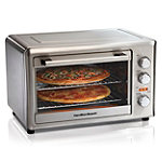Hamilton Beach Stainless Steel Countertop Oven with Convection and Rotisserie 99.99