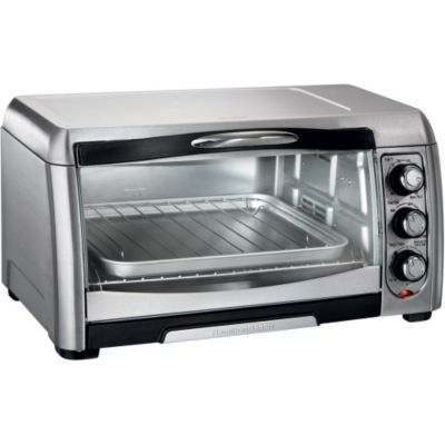 Hamilton Beach Stainless Steel Convection Toaster Oven