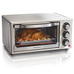 Hamilton Beach Stainless Steel 6-Slice Toaster Oven 59.99