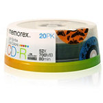 Memorex Cool Colors LightScribe™ CD-R 20-Pack 6.95