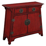 Coast to Coast Accents Red Asian Accent Chest